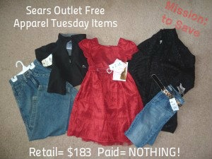 Sears Outlet offers large percentage-off discounts, coupons, and appliance blowout specials for online purchases. They have a Deal of the Day, a Clearance Section, deals on returned items for up to 50 percent off, and even reduced prices on new items.