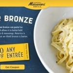 $5 Off One Entree at Macaroni Grill