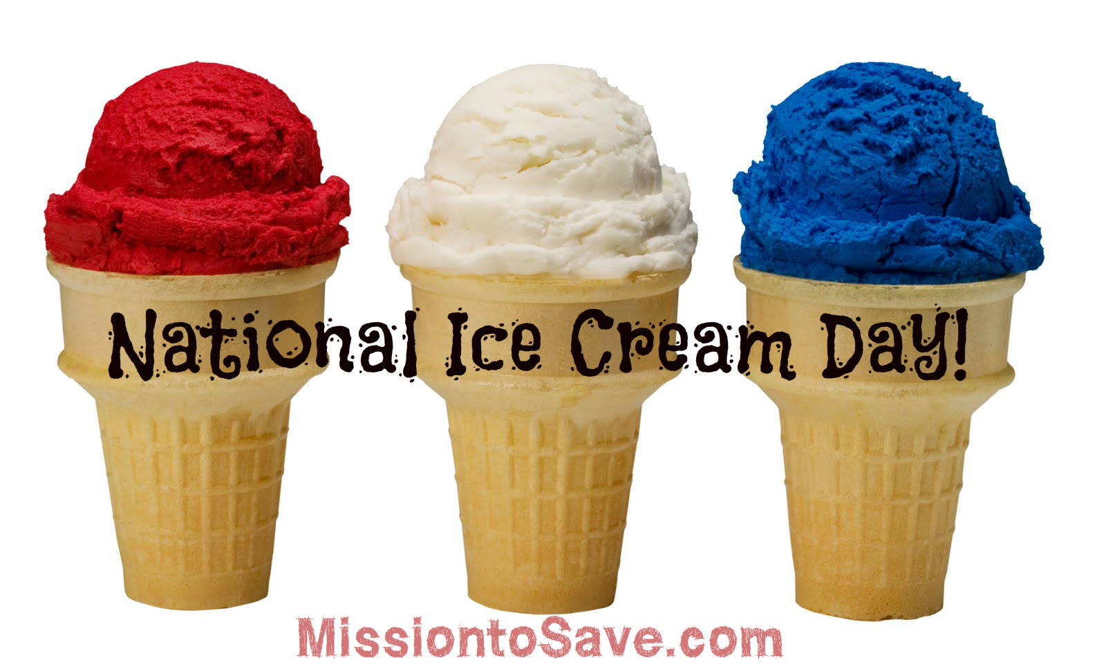 National Ice Cream Day Deals 2016