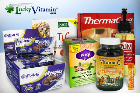 Eversave: $10 for $20 Lucky Vitamin Voucher (Only $5 for New Members!)