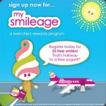Menchie's My Smileage Rewards Program, Earn Free FroYo!