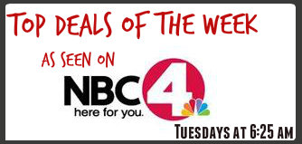 NBC4 Top Deals of the Week, 7/9/13