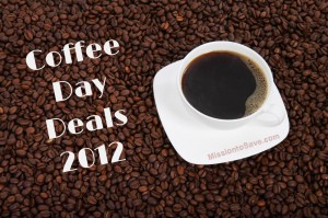 Coffee Day Deals 2012 300x199 National Coffee Day is September 29th! Get FREE Coffee!!