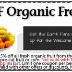Earth Fare: 15% Off Organic Fresh Fruit Coupon