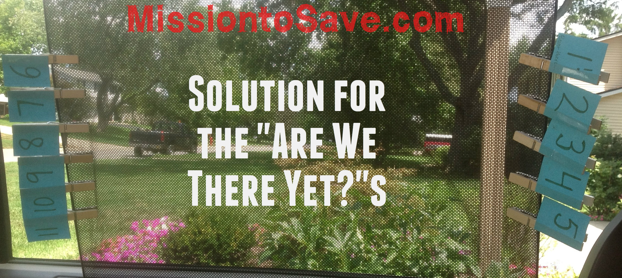 "Solution to Common Travel Problem- ""Are We There Yet?"""