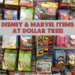 Tons of Disney and Marvel Items at Dollar Tree= Correction….