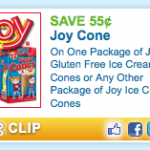 $0.55/1 Joy Cones, Two Links to Print