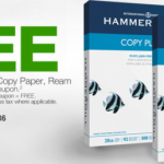 Staples: Free Copy Paper After $2 Off Coupon and Easy Rebate