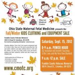 Columbus Mothers of Twins Club Fall 2012 Consignment Sale