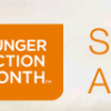September is National Hunger Action Month, Go Orange to Show Support!