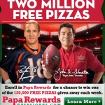 Papa John's Giving Away 2 Million FREE Pizzas!