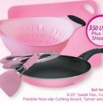 FREE Proctor & Gamble Pink Cookware Set!