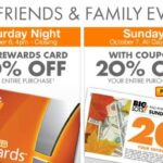 Big Lots Coupon for 20% Off + Matchups, 10/6-10/7!