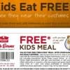 Kids Eat Free at Bob Evans- Now Thru 10/31