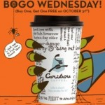 Caribou Coffee BOGO Free on 10/31/12