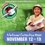 Operation Christmas Child Shoebox Donation Week is Coming, 11/12-19!