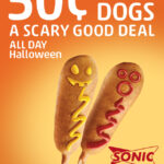 Sonic Halloween Special: $0.50 Corn Dogs All Day 10/31/12!