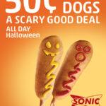 Sonic Halloween Corn Dogs