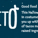 Chipotle Boorito: $2 Entree Items on Halloween Night!