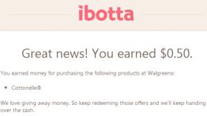 Ibotta App earned