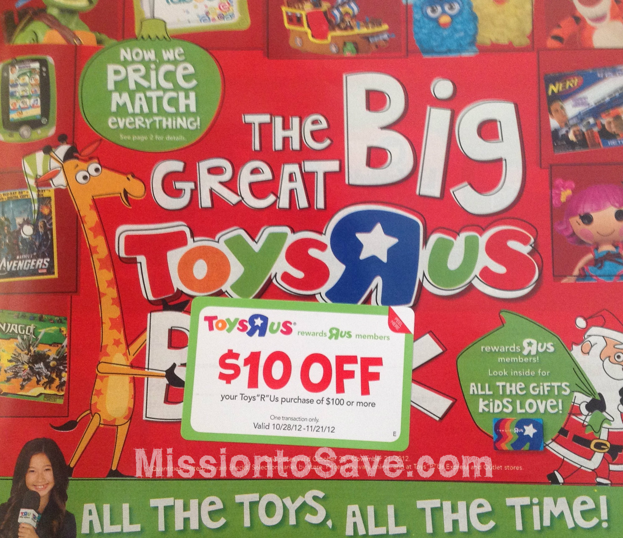 Toys Are Us Catalog : Toys r us coupons gift card offer  coupon