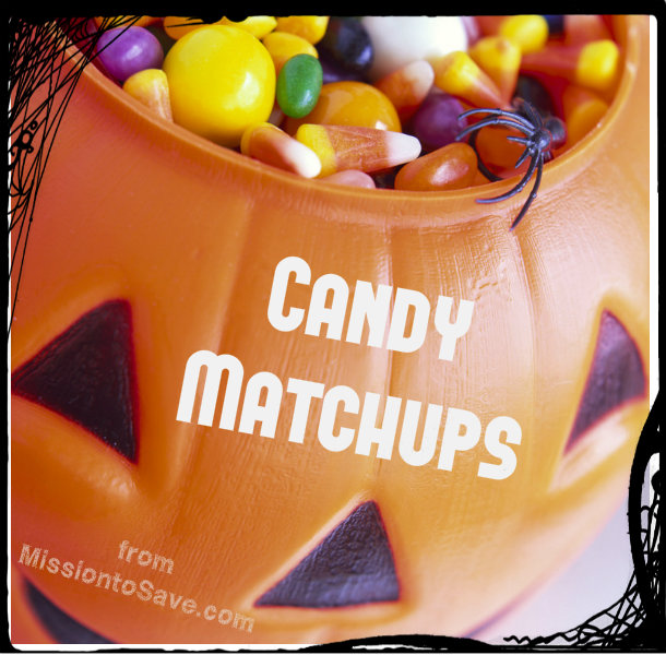 halloween candy matchups
