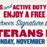 Applebee's Veterans Day Offer