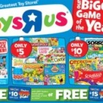 Toys R Us: Board Games Sale, 7 for $13!