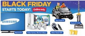 Walmart Black Friday Starts Early Online Too!