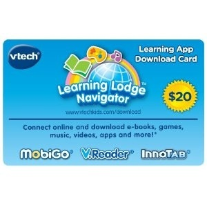 VTech Apps Download Card- $20 Card for $12.54!