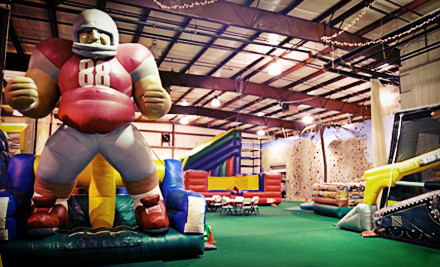Groupon Columbus: Up to 54% Off SuperGames Open Play Visits