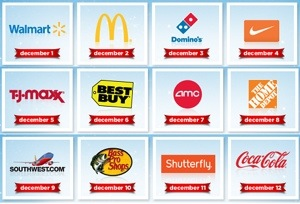 My Coke Rewards 12 Days of Christmas: Free 12 Pack Coupon + Shutterfly Freebie!