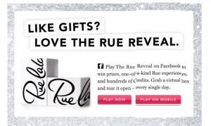 Play the Rue La La Instant Win Game! Earn Credits or Prizes!