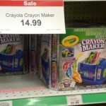 Toys R Us In Store: Crayola Crayon Maker for $5.74 Each (Reg. Price $32!)