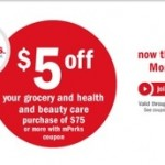 Meijer mPerks: $5 Off $75 Purchase (exp. 12/31)