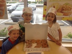 Krispy Kreme Good Grades Free Doughnuts