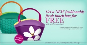 Lean cuisine free lunch bag