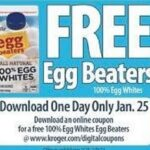 Kroger eCoupon: Free Egg Beaters (Download Today Only)