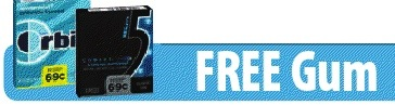 Kroger Free Gum eCoupon! (Download Friday Only)