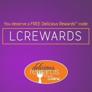 """Lean Cuisine Delicious Rewards – Free codes! Lean Cuisine seems to have joined the trend of code-based customer loyalty programs with their """"Delicious Rewards"""" program! Lucky for us – now we can get healthier while we earn and share codes."""