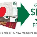 Free Starbucks Gift Card – $5 for New Starbucks Rewards Members