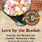 Rusty Bucket Valentine's Day Kids Eat Free