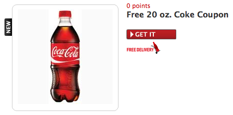 Free 20 oz Coke from MyCokeRewards! GONE!
