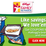 Join Kellogg's Family Rewards Today!  Earn Coupons and Goodies!