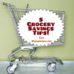 5 grocery saving tips