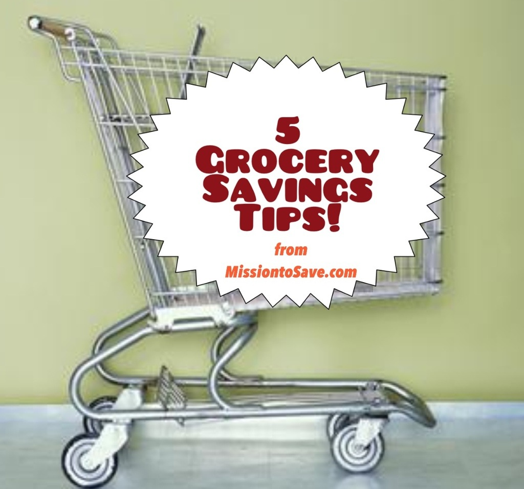5 Grocery Savings Tips