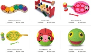 Melissa & Doug Toys on One Kings Lane! ($6 Each After New User Credit)
