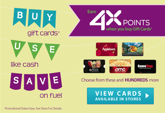kroger 4x fuel points on gift card purchases is back mission to save. Black Bedroom Furniture Sets. Home Design Ideas