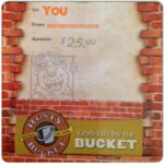 $25 Rusty Bucket Gift Card Giveaway!