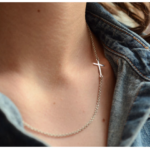 $14.95 for ILY Couture Sideways Cross – Very On Trend!